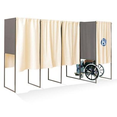 handicap isoloir vote